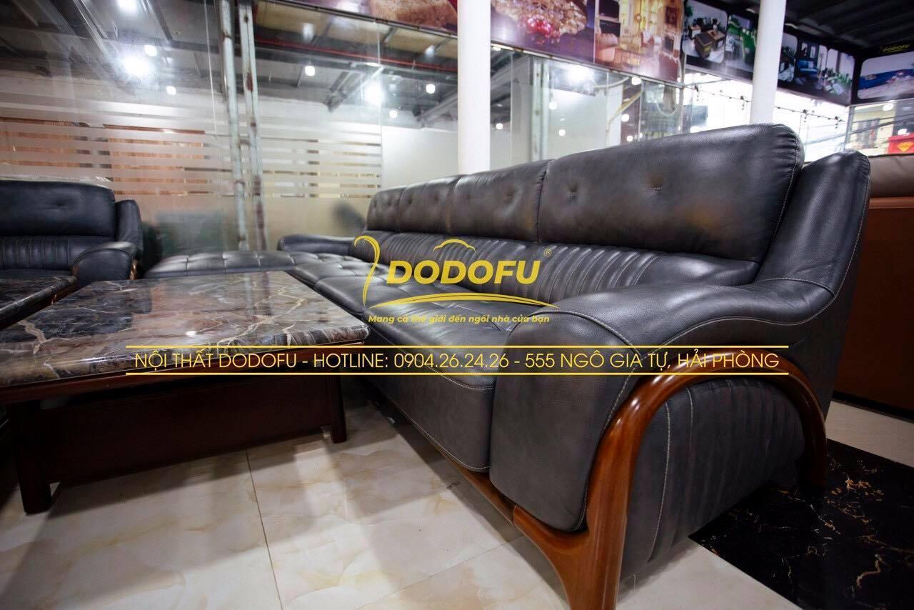 sofa da cao cấp hải phòng