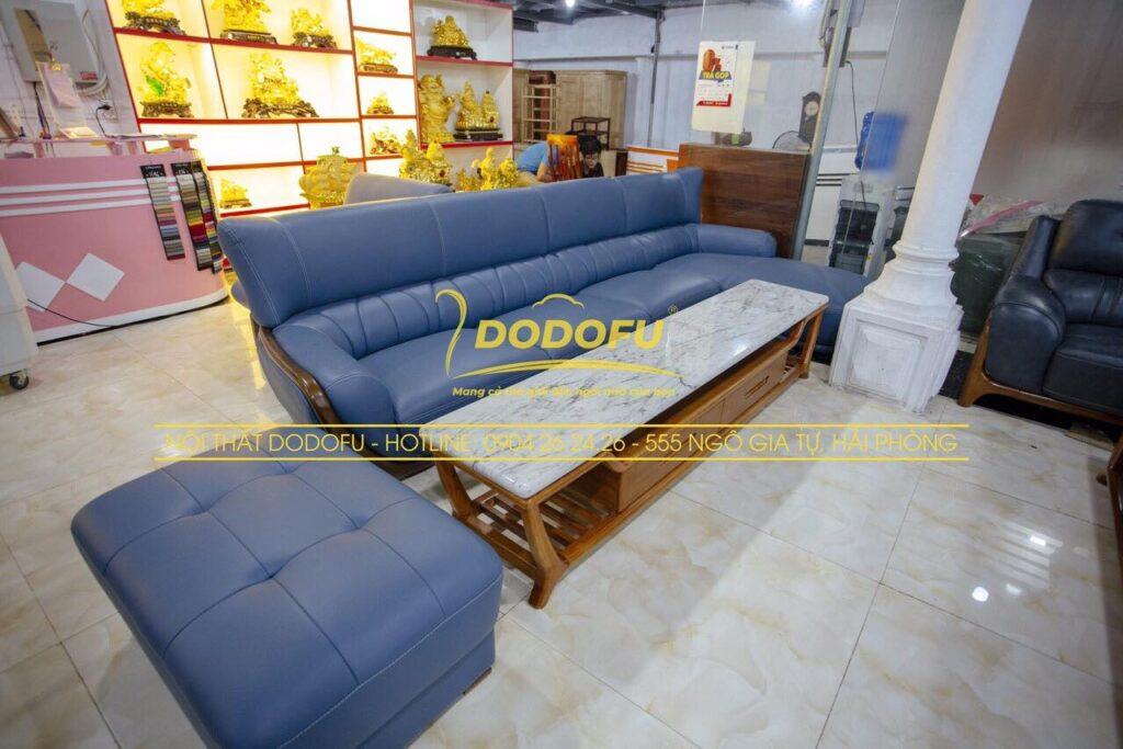 sofa da nhập khẩu hải phòng